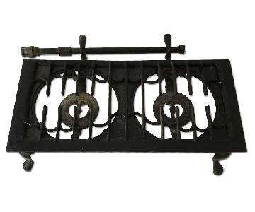 Vintage Cast Iron Plate