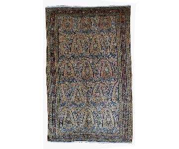 Antique 1900s Persian Bibikabad Rug