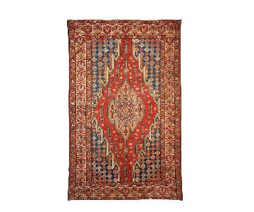 Antique 1920s Persian Mazlahan Rug