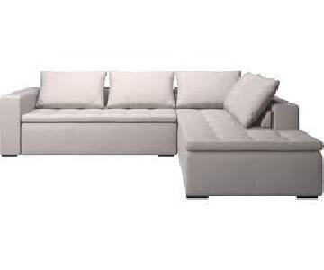 BoConcept Mezzo Corner Sofa w/ Lounging Unit