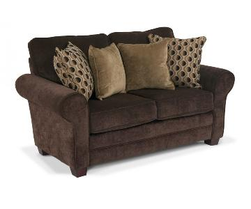 Bob's Maggie Chocolate Brown Loveseat