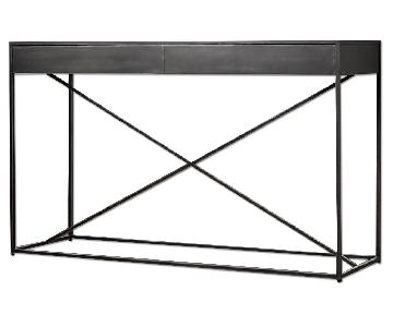 Restoration Hardware Gramercy Mirrored Top Console Table