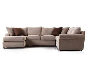 Bloomingdale's 3 Piece Sectional Sofa
