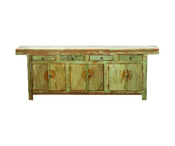 Eco-Friendly Reclaimed Wood Large Buffet/Sideboard