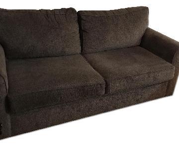 Bob's Grey Sleeper Sofa