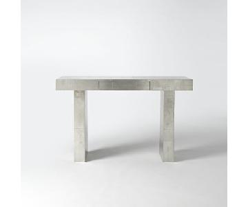 West Elm Metal Terra Console Table/Desk
