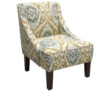 Opal Swoop Arm Chairs