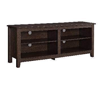 Walker Edison Wood TV Media Stand/Storage Console