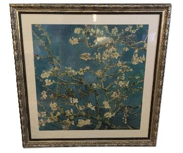Large Print Van Gogh Almond Blossoms In Custom Frame