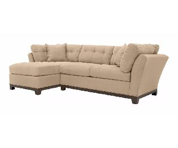 Raymour & Flanigan Cindy Crawford Metropolis Sectional Sofa