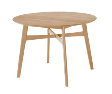 Wayfair Langley Street Natural Wood Round Dining Table