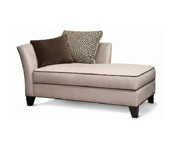 Raymour & Flanigan Broadway Chaise Lounge