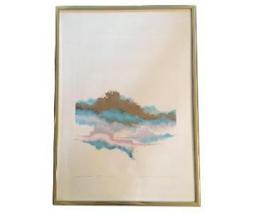Modern Watercolor Framed Print