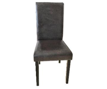 Cisco Brothers Dark Brown Leather Dining Room Chair