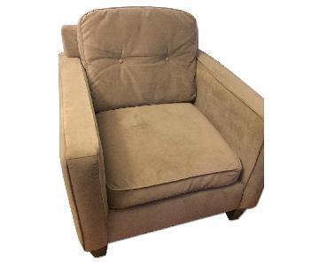 Raymour & Flanigan Microfiber Armchair