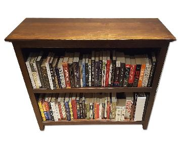 Pottery Barn Wooden Bookshelves