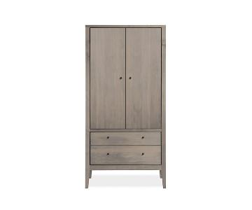 Room & Board Calvin Armoire in Shell Stain