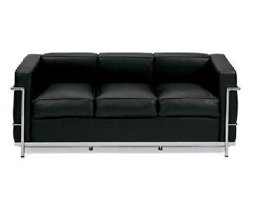 Design Within Reach LC2 Petit Modele Three-Seat Sofa