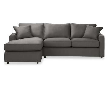 Room & Board York Sectional Sofa w/ Left-Arm Chaise