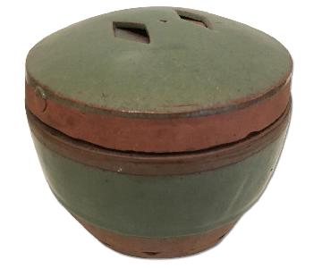 Vintage Ceramic Lidded Pot