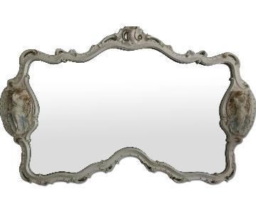 Engraved Sculpture Mirror
