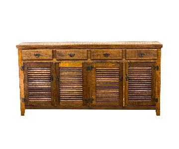 Reclaimed Wood Rustic Buffet