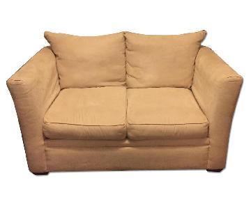 Klaussner Off-White Sofa