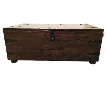 Crate & Barrel Thakat Trunk