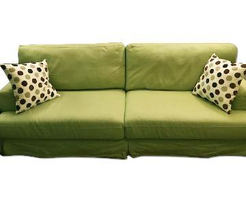 Ikea Sofa in Green