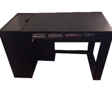 Desk w/ Storage & Chair