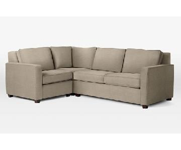 West Elm Henry Sectional Sofa