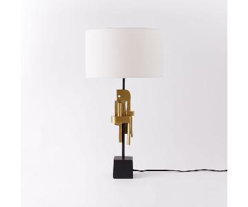 West Elm Cubist Sculpture Table Lamp