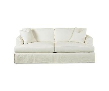 Jennifer Convertibles Down Blend Queen Sleeper Sofa + Chair