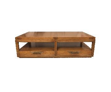 Antique Oak Coffee Table