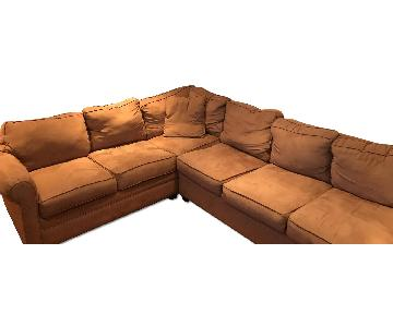 Raymour & Flanigan Sectional Couch