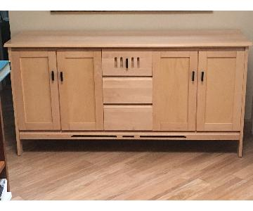 Baronet Solid Maple Wood Credenza