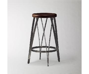 West Elm Ribbon Counter Stools