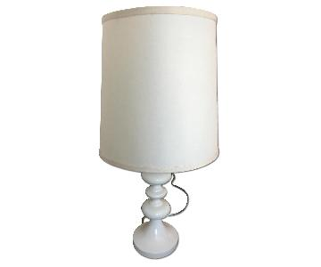 White Lamp w/ Shade