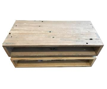 From The Source Reclaimed Wood Coffee Table