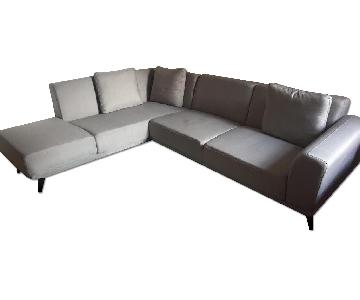 Ikea Gray Sectional Sofa
