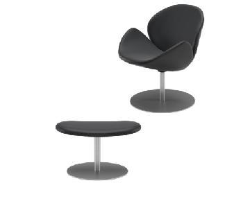 BoConcept Ogi Chair & Ogi Footstool
