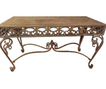 Home Goods Distressed Coffee Table