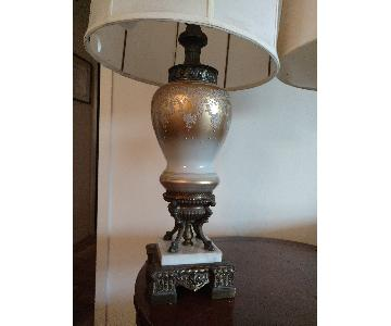 Ornate Vintage Table Lamp