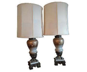 Ornate Vintage Table Lamp