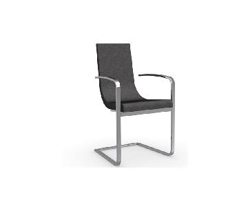 Calligaris Cruiser Cantilever Upholstered Dining Chair