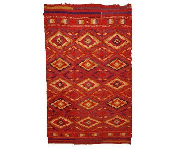 Antique 1920s Moroccan Kilim Rug