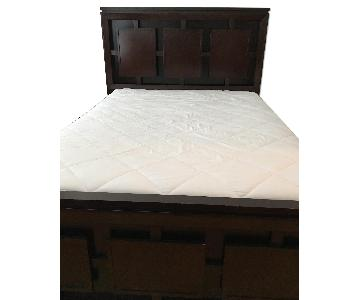 Bob's Queen Bed Frame + Matching Nightstand