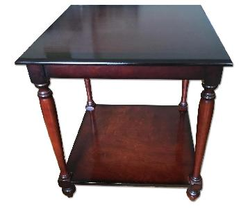 The Bombay Company Dark Wood Side Table