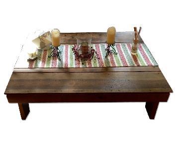 Reclaimed Wood Handmade Coffee Table