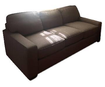 Herringbone Smith Brothers Sofa